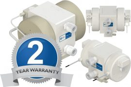 White Knight Two-Year Warranty for Ultra-Pure Pumps