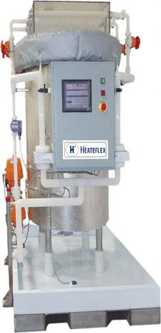Heateflex Fluidix Steam Powered Deionized DI Water Heater Systems