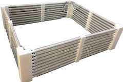 Heateflex PFA Immersion Tank Fence Heaters