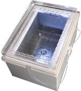 Accubath Quartz Recirculating Heated Tank Etch Process