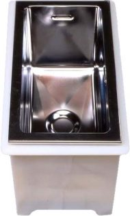 Accubath Stainless Steel Heated Tank