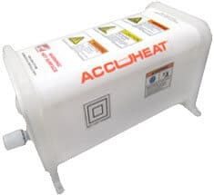 Accuheat PFA In-Line Chemical Heaters