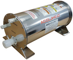Accuheat PFA In-Line Solvent Heaters