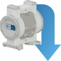 벌크 이송 / 재생 용 에어 운전 이중-다이어프램 펌프