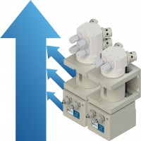 White Knight 泵用于化學品攪拌混合和脈衝