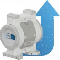 CMP 슬러리 용 에어 운전 이중-다이어프램 펌프
