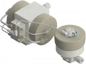 PSA140 Pump with DBA140 Pulse Dampener In Line