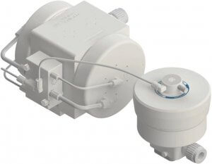PSH140 Pump with DBH140 Pulse Dampener In Line