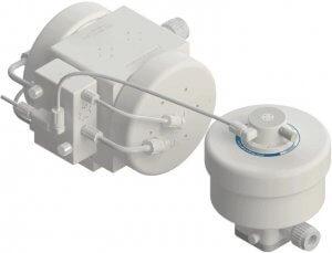 PSU060 Pump with DBU060 Pulse Dampener In-Line