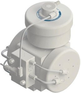 PSU060 Pump with DBU060 Pulse Dampener Top Mounted