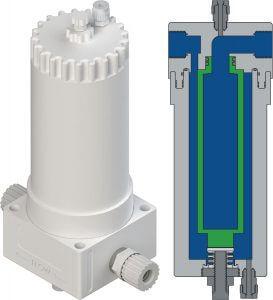 FHU列泵温度高达210°C下可用的滤油器外壳