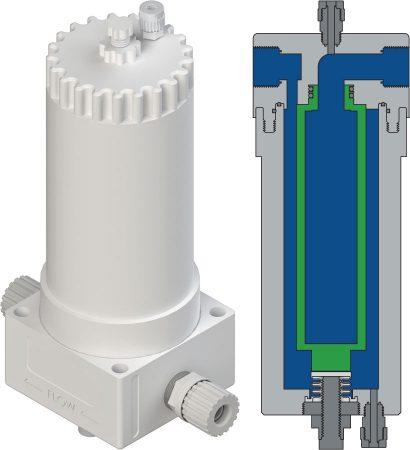 FHU系列過濾器外殼的溫度高達210°C