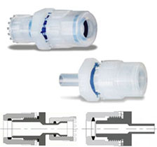 Fit-One PFA Reducing Union Adapter Fittings