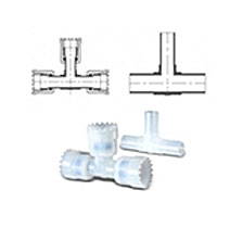 Fit-One PFA TA Tee Adaptor Fittings