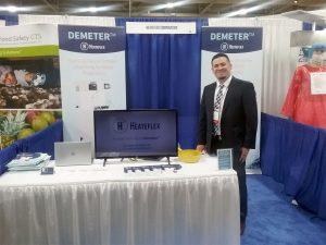 Heateflex IAFP 2018 Demeter Booth