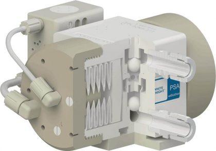 White Knight High Flow Checks on PSA060 High-Purity Pump