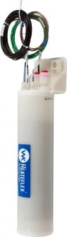 Heateflex LH1 PVDF/PFA Ultra-Pure In-Line Fluid Heaters for DI Water and Mild Chemicals