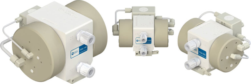 White Knight PSA Series Air-Operated Double-Bellows Pumps