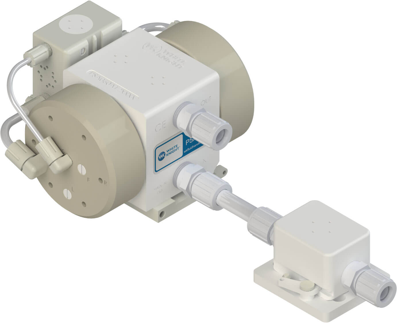 PSA060 Pump with FD12-P-BF12 Pre-Filter Catcher