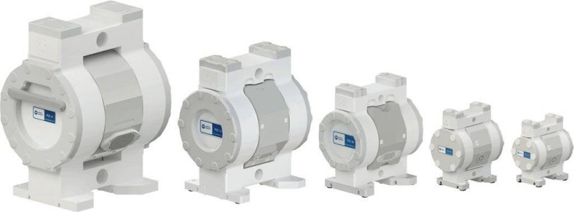 PSD Series Air-Operated Double-Diaphragm AODD Pumps