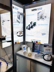 SEMI Europa Nov 2018 Heateflex Heaters in Booth
