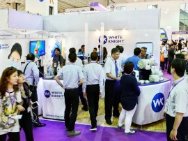 White Knight at Semicon Taiwan 2015