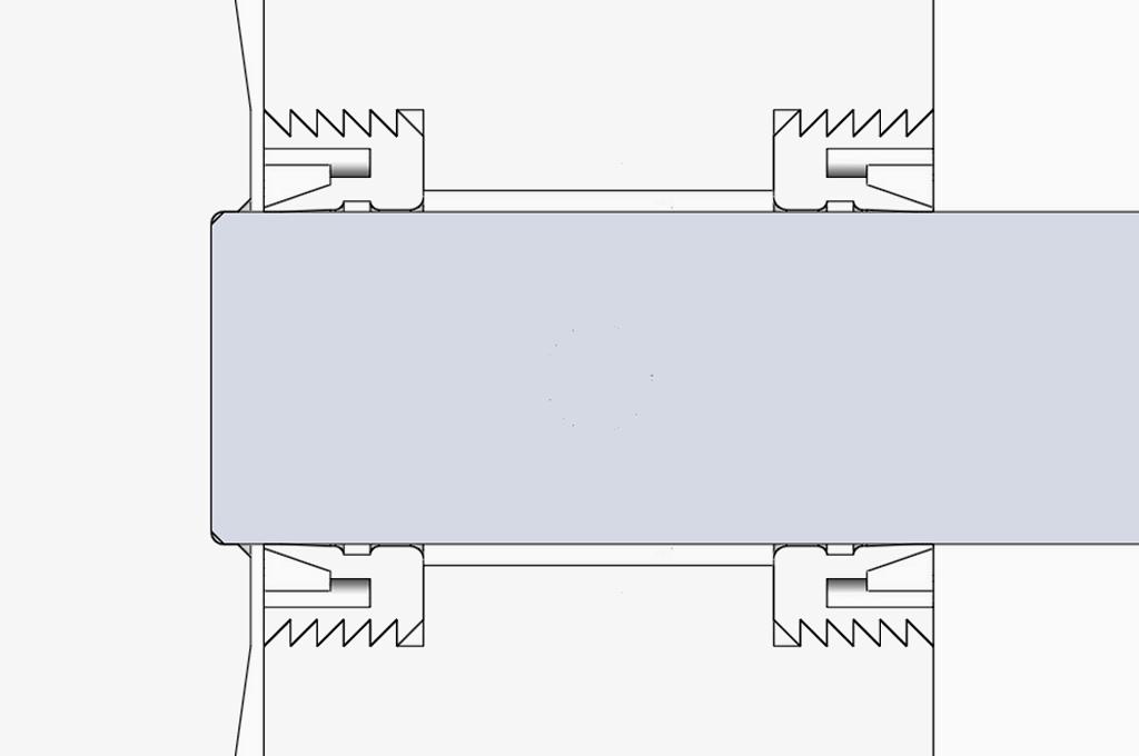 油圧負荷式シャフトシール