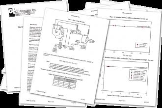 2台のポンプのフィルタ保持率への影響テストレポート