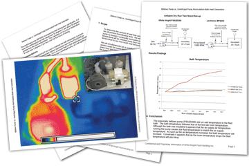 ベローズポンプと遠心ポンプの再循環槽の発熱量の比較