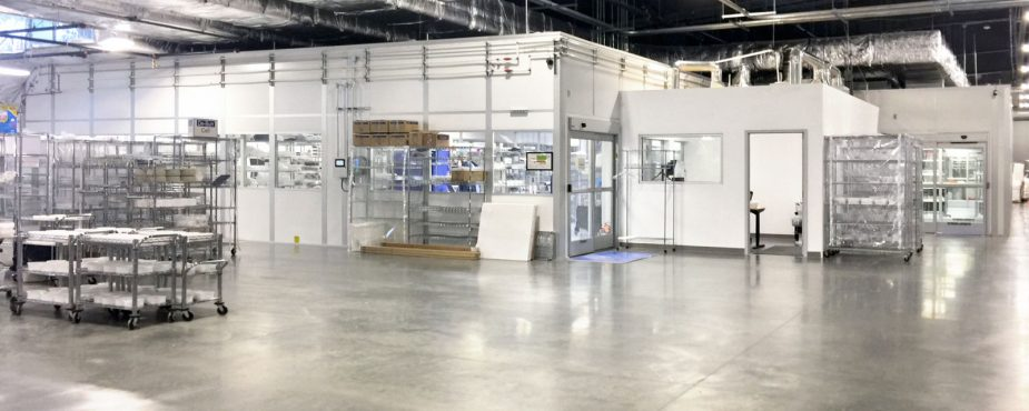 White Kight Facility Expansion Cleanroom