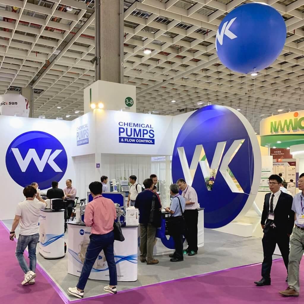 White Knight at Semicon Taiwan 2019